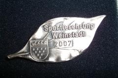 Sportlerehrung 2007